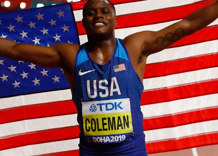 Christian Coleman Ban for 2 years