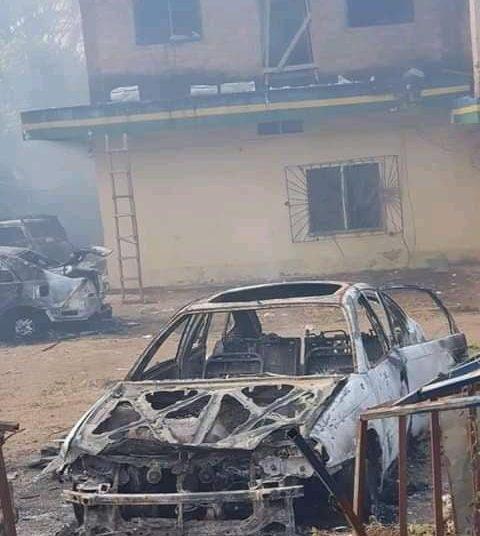 Burnt Ugboukwu police station