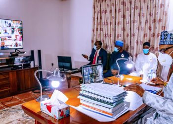 President Buhari Joins FEC Meeting Online Presided Over By Prof Osinbajo