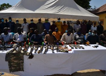 Police Re-arrest 5 inmates Who Escaped From Edo Correctional Centre, Recovers Ak49 others from