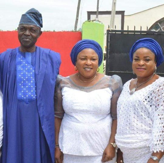 Coach Onishola, Orisabunmi and Aunty Buky ( All late)